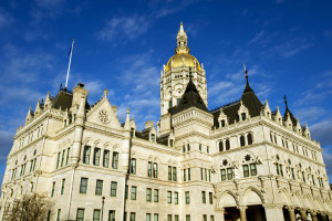 The Connecticut Capitol is pictured here. Part of the Hartford's appeal of $34.7 million in damages in a case brought by auto body shops in Connecticut surrounds the Connecticut Unfair Trade Practices Act passed by the Legislature. (Natalia Bratslavsky/iStock/Thinkstock)