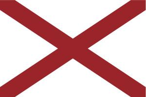 Alabama flag (tkacchuk/iStock/Thinkstock)
