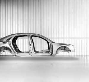 Audi is one of the automakers using aluminum bodies. (Provided by Audi)