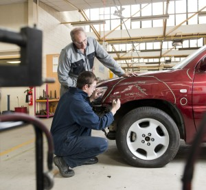 Auto Body Repair Network offered a 2015 shopping list for collision repair shops. (Peter M. Fisher/Fuse/Thinkstock)