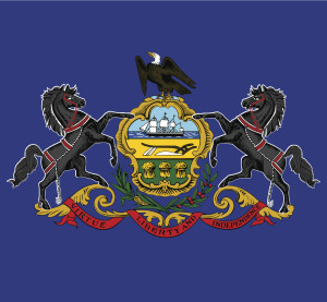 The Pennslyvania state flag. (tkacchuk/iStock/Thinkstock)