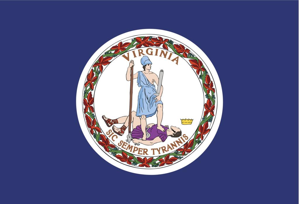 Virginia state flag. (tkacchuk/iStock/Thinkstock)