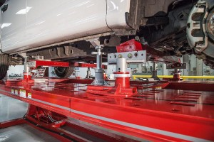 """The class """"Aluminum Damage Analysis and Repair Technology"""" is being offered by Chief University, covering repairs on aluminum vehicles like the Ford F-150 (pictured). (Chief Automotive Technologies via PRNewsFoto)"""