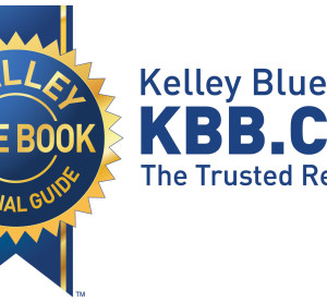 Kelley Blue Book logo. (Provided by Kelley Blue Book via PRNewsFoto)