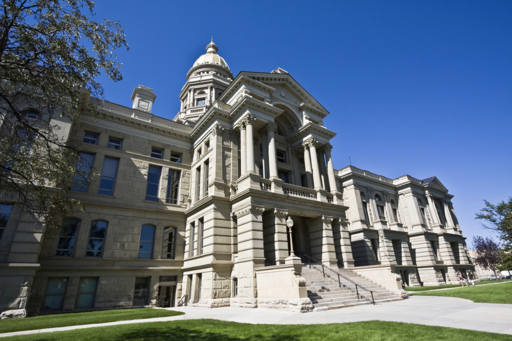 The Wyoming Capitol is shown in this undated photo. (Henryk Sadura/iStock/Thinkstock)