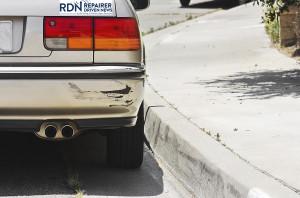 A swiped bumper. (JohnnyH5/iStock/Thinkstock)
