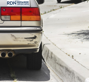 A swiped bumper. (JohnnyH5/iStock/Thinkstock)