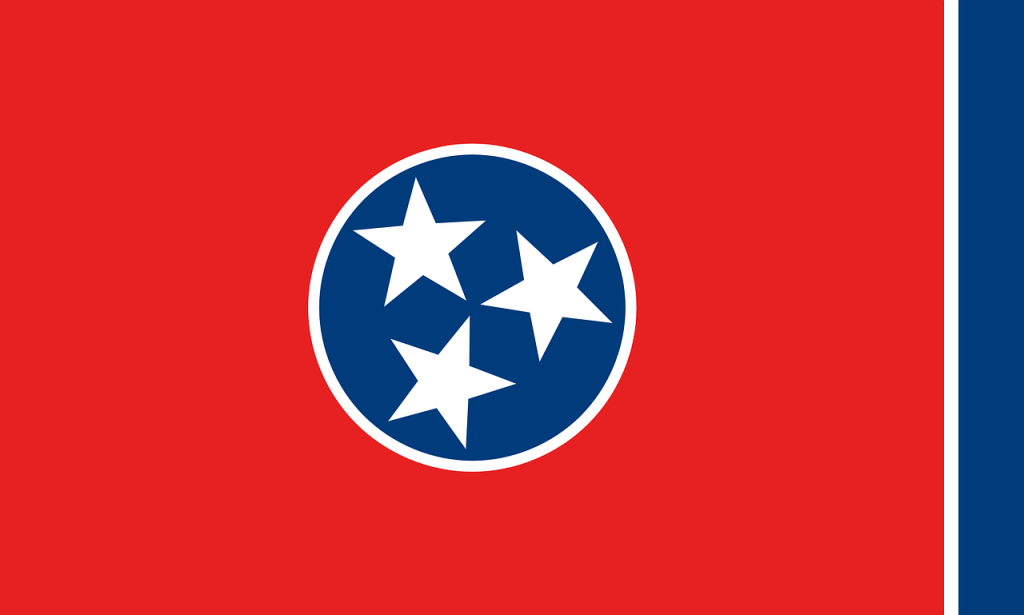 The Tennessee flag. (Nemo via Pixabay)
