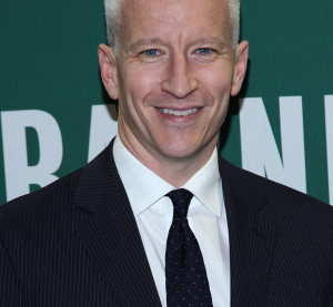 """Anderson Cooper visits Barnes & Noble Union Square to promote Jeffrey Toobin's new book """"The Oath: The Obama White House And The Supreme Court"""" on Oct. 18, 2012 in New York City.  (Rob Kim/Getty Images Entertainment/Thinkstock file)"""
