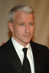 Reporter Anderson Cooper attends the celebration for Time Magazine's 100 Most Infuential People issue at Jazz at Lincoln Center May 8, 2006, in New York City. (Brad Barket/Getty Images/Thinkstock file)