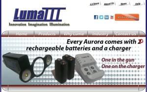 This screenshot from Luma III's website shows the Aurora. (Screenshot from www.lumaiii.com)