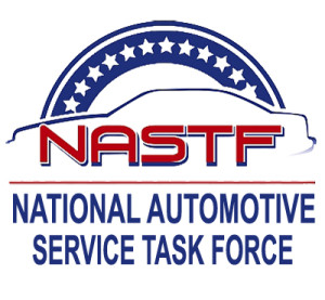 The National Automotive Service Task Force logo. (Provided by NASTF)
