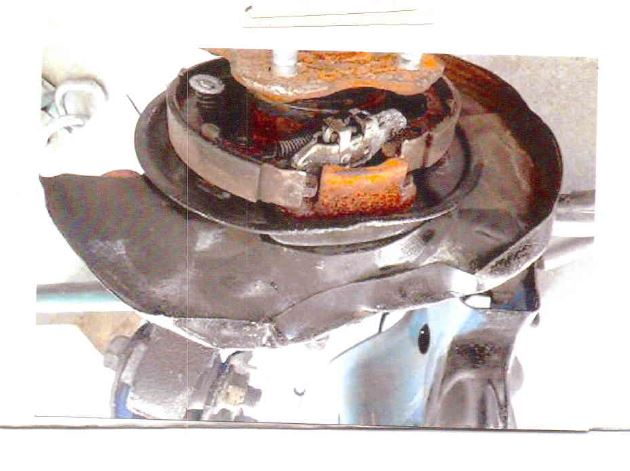 An example of a substandard part allegedly mandated by Allstate to a Florida Auto Body shop. (Provided by plaintiffs)
