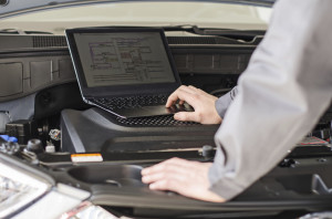 Though there are some general concerns about rates based on driving records, the growth in instant diagnostic information through telematics -- as Ford is examining and GM will provide for Chevrolet drivers -- could have the greater impact on the auto body industry. (DmitriMaruta/iStock/Thinkstock)