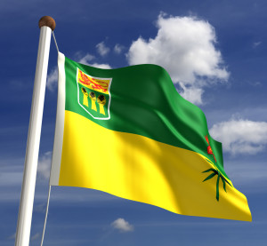 The Saskatchewan flag. (selensergen/iStock/Thinkstock)