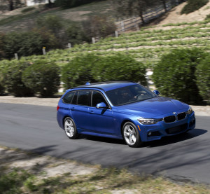 A BMW 328d xDrive Sports Wagon is shown in April 2014. (Provided by BMW)