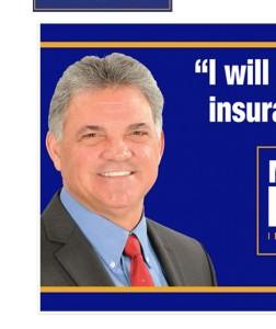 A screenshot from Louisiana insurance commissioner candidate Matt Parker's website. (Screenshot from www.mattparkerforlouisiana.com)