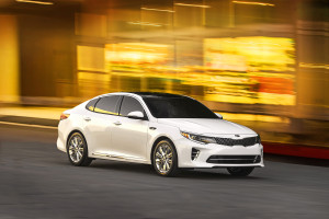 The 2016 Kia Optima is shown in this image from Kia. (Provided by Kia)