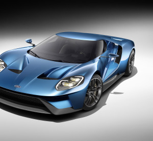 "Ford in January announced the 2017 Ford GT ""supercar,"" which will use much carbon fiber and aluminum in its design. (Provided by Ford)"