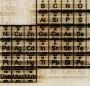Elements like carbon, boron, aluminum, and magnesium (background) have major automotive potential. (Jason Reed/Photodisc/Thinkstock)