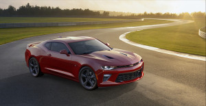 The 2016 Camaro SS weighs at least 200 pounds less than its predecessor. (Copyright General Motors)