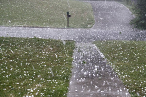 Hail causes about $1 billion in damage to crops and property, NOAA said in 2010. (Linda Waterhouse/iStock/Thinkstock)