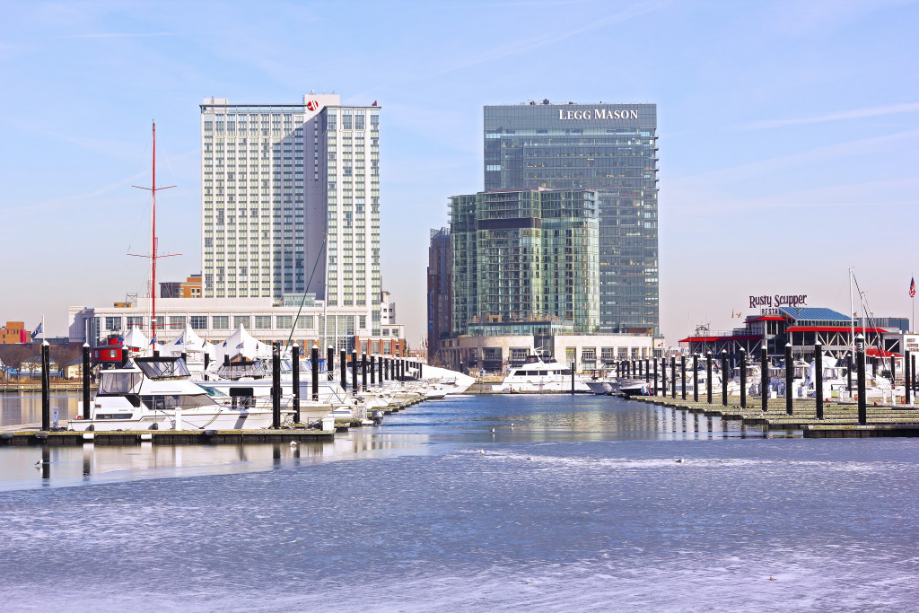 The Baltimore Inner Harbor Marriott can be seen in this January 2014 photo. (amedved/iStock Editorial/Thinkstock file)