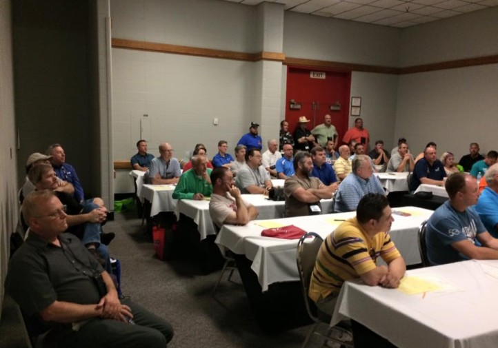 The collision school instructor roundtable by the Collision Repair Education Foundation at SkillsUSA 2015. (Provided by Collision Repair Education Foundation)