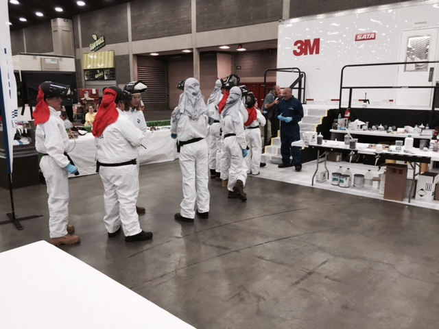 Competition June 25, 2015, at SkillsUSA Nationals. (Kye Yeung/Society of Collision Repair Specialists)