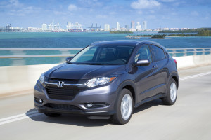 The 2016 Honda HR-V racked up impressive sales on its first month in America. (Provided by Honda)