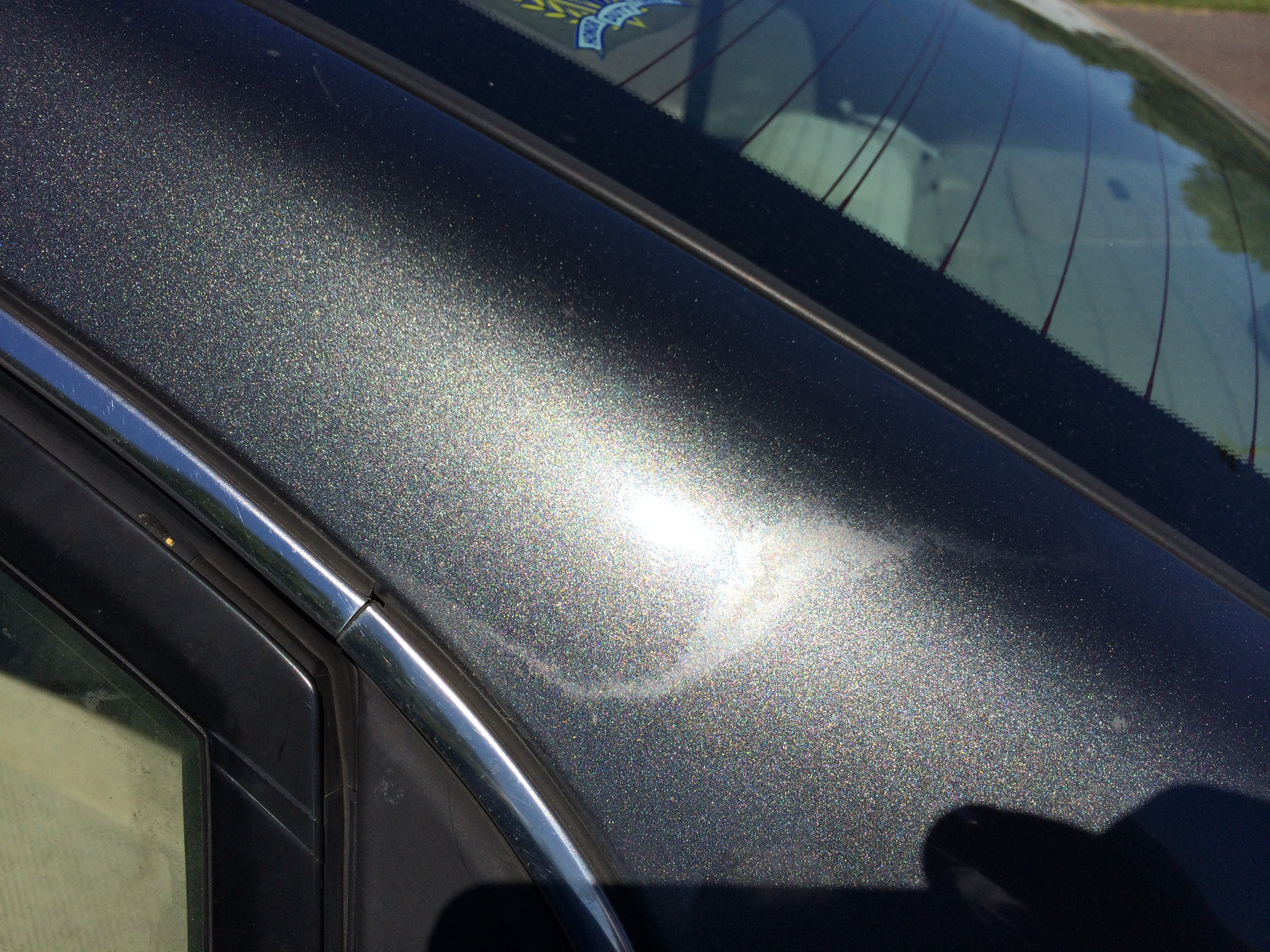 Car Clear Coat Spot Repair
