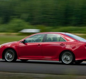The seventh-generation Toyota Camry debuting with the 2012 model year is shown. (Provided by Toyota)