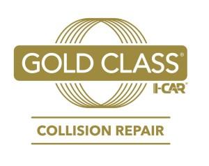 The I-CAR Gold Class logo. (Provided by I-CAR)