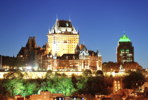 The Quebec City skyline is shown. (Songquan Deng/iStock/Thinkstock)