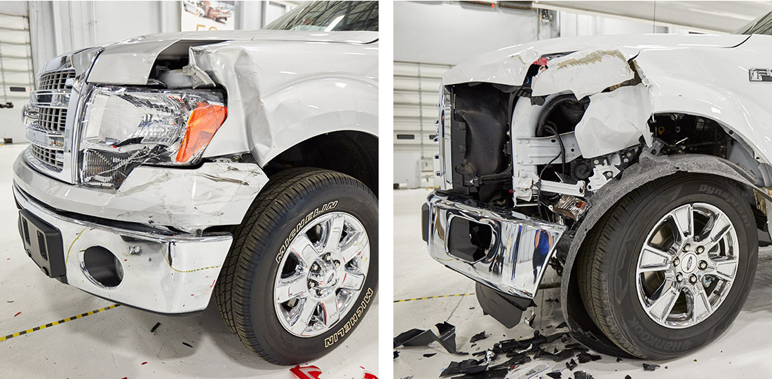 2014 2015 ford f150 crash test ford disputes iihs report on aluminum f 150 repair costs wiring harness replacement cost at eliteediting.co
