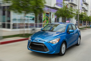 The 2016 Scion iA, which costs less than $19,000, has automatic braking and a rearview camera. (Provided by Scion)