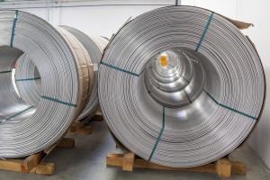 Aluminum rolls are shown. (zstockphotos/iStock/Thinkstock)