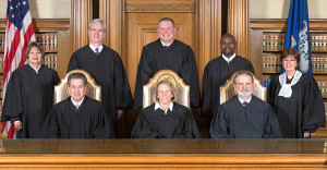 "The Connecticut Supreme Court in 2015 threw out both a jury verdict and a lengthy opinion by a ""very smart"" judge in Artie's Auto Body et al v. the Hartford Fire Insurance Company following the Hartford's appeal. (Provided by Connecticut Supreme Court)"