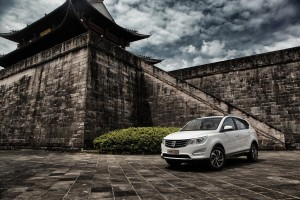 The SAIC-GM-Wuling Baojun 560 was announced July 18 by the Chinese-American joint venture. General Motors is partnering with SAIC on Chevrolet's new $5 billion line of export vehicles. (Provided by General Motors/© GM Corp)