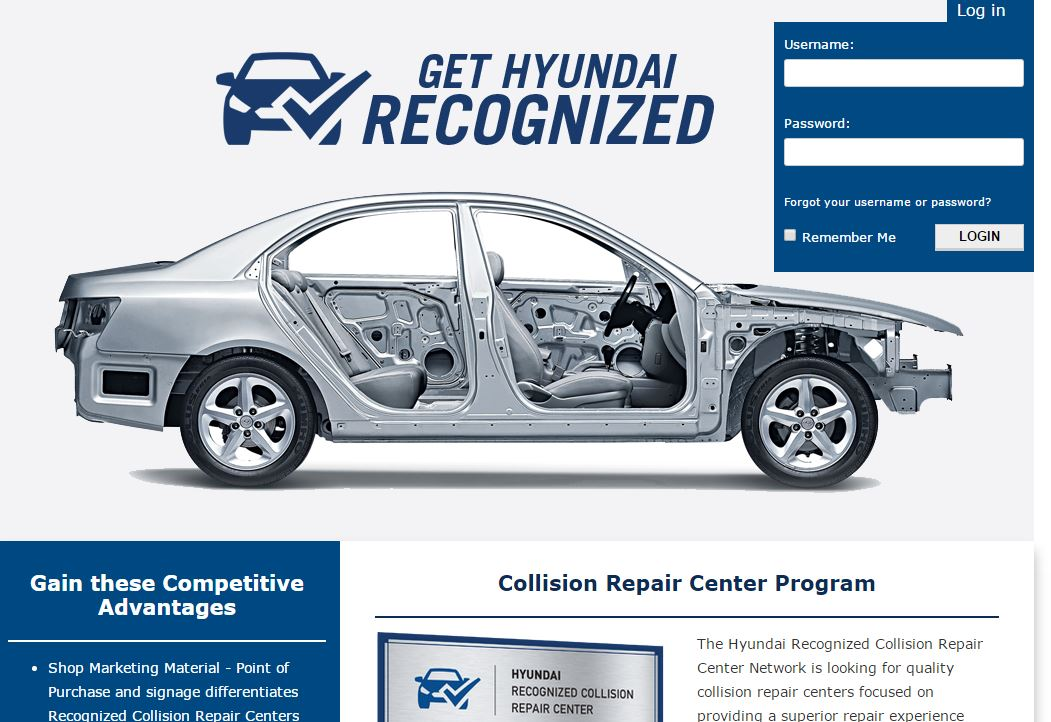 How To Get Ase Certified >> Hyundai launches 'Recognized' auto body shop certification ...