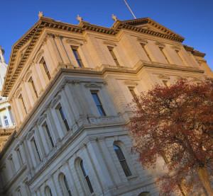 The Michigan Capitol in Lansing. (benkrut/iStock/Thinkstock)