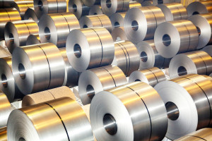 Rolls of steel are shown. (Dmitriy Rukhmalev/iStock/Thinkstock)