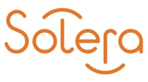The Solera logo. (Provided by Solera via PRNewsFoto)