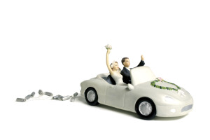 The next generation of wedding auto cake toppers will be made of aluminum and high-strength steel. (MGJdeWit/iStock/Thinkstock)