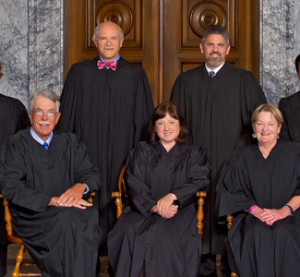 The Washington state Supreme Court is shown in 2014. (Provided by Washington state Supreme Court)