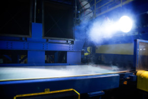 The manufacturing process for Alcoa's Micromill aluminum is shown. (Provided by Alcoa)