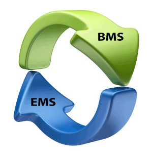 The Collision Industry Electronic Commerce Association's unofficial EMS to BMS logo. (Provided by CIECA)