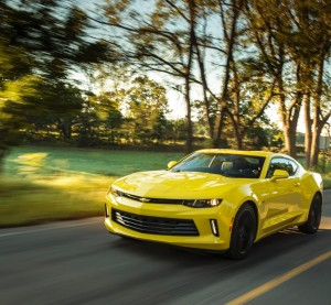 The 2016 version of the Camaro -- seen here in the SS style -- will lose between 223 and 390 pounds from 2015 models. (Provided by General Motors/Copyright General Motors)