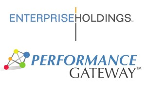 The Enterprise Holdings and Performance Gateway logos are shown. (Provided by Enterprise Holdings, Performance Gateway)