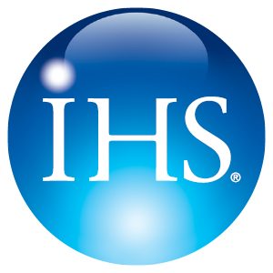 The IHS logo. (Provided by IHS)